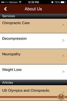 Martinez Chiropractic screenshot 1