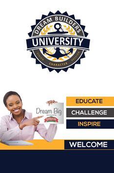 Dream Builders University poster