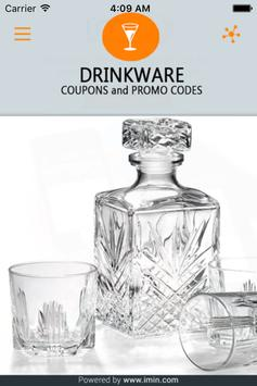 Drinkware Coupons - ImIn! poster
