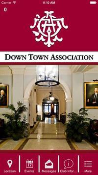Down Town Association poster
