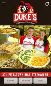 Duke's Pizzeria poster