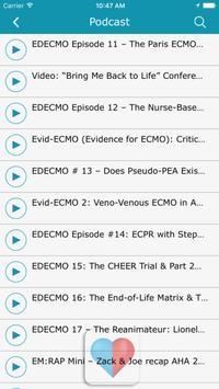 ECMO. screenshot 3
