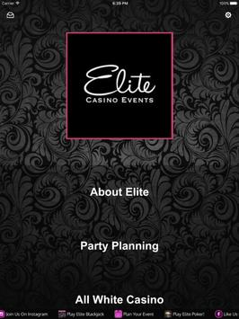 Elite Casino screenshot 5