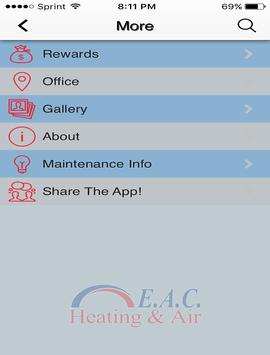E.A.C. Heating & Air screenshot 13