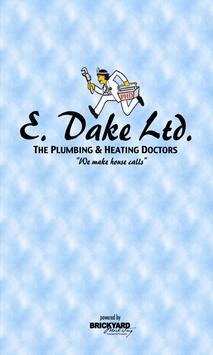 E. Dake Plumbing & Heating Ltd poster