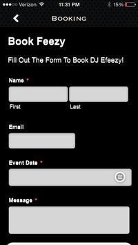 DJ E-Feezy screenshot 1