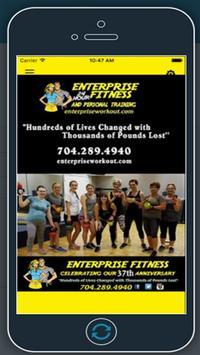 Enterprise Fitness screenshot 1