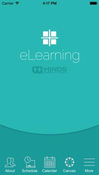 Hinds Community College eLearn poster