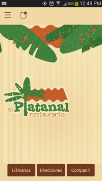 Restaurante El Platanal poster