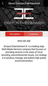 Enviyon Entertainment LLC screenshot 5