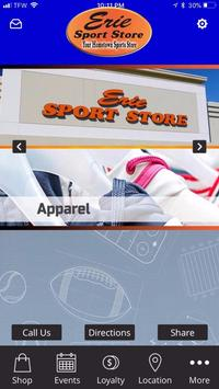Erie Sports Store poster