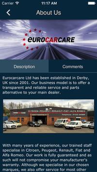 Euro Car Care screenshot 1