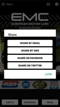 European Motor Cars - EMC screenshot 3
