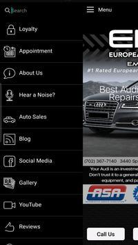 European Motor Cars - EMC screenshot 1