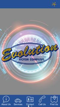 Evolution Motor Company poster