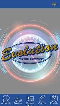 Evolution Motor Company poster