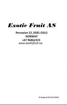 Exotic Fruit AS screenshot 1