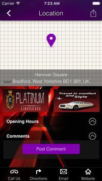 Platium Limousines screenshot 1