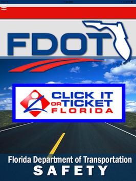 Florida DOT Safety poster
