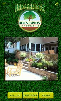 Fernandez Masonry Landscaping poster