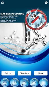 Master Plumbing Leak Detection poster