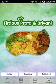 Firdaus Prata & Briyani House poster
