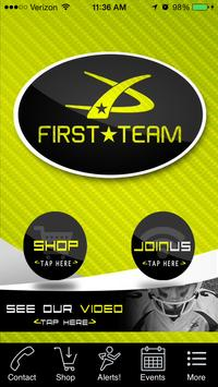 First Team Athletic Apparel poster