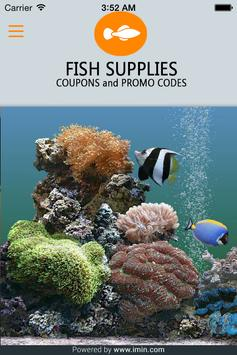 Fish Supplies Coupons - ImIn! poster
