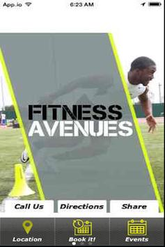 Fitness Ave poster