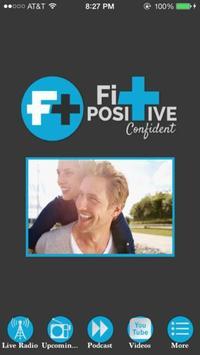 Fit Positive Confident poster