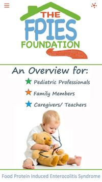 The FPIES Foundation poster