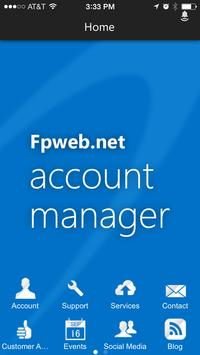 Fpweb.net Account Manager poster