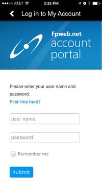 Fpweb.net Account Manager apk screenshot
