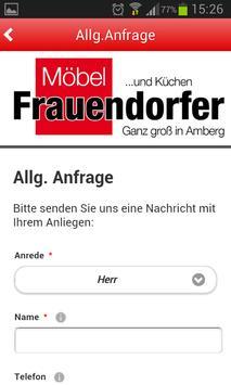 Möbel Frauendorfer apk screenshot