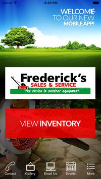 Frederick's Sales & Service poster