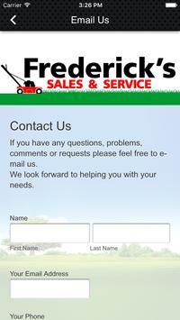 Frederick's Sales & Service apk screenshot