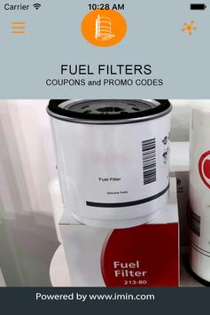 Fuel Filters Coupons - I'm In! poster
