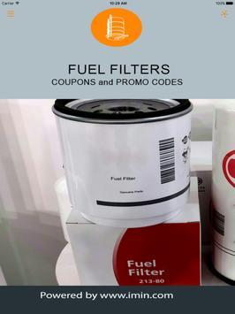 Fuel Filters Coupons - I'm In! apk screenshot