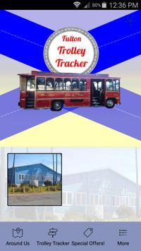 Fulton Trolley poster
