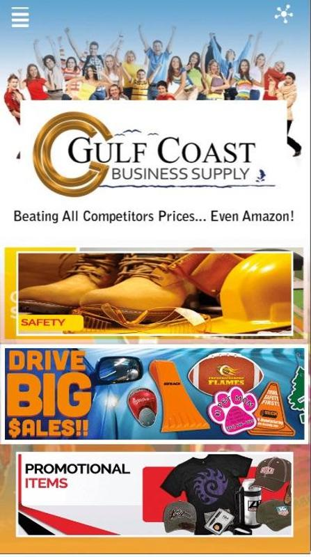 Gulf Coast Business Supply الملصق تصوير الشاشة 1