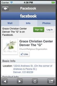 Grace Christian Center apk screenshot