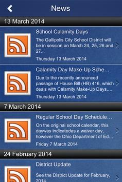 Gallipolis City Schools apk screenshot