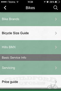 Guildford Cycles screenshot 4