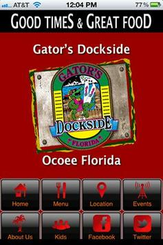 Gators Dockside Ocoee poster