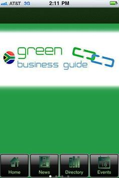 The Green Business Guide poster
