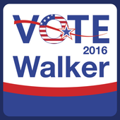 Gertrude Walker for Election icon