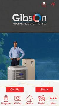 Gibson Heating & Cooling poster