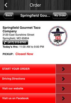 Gourmet Taco Company apk screenshot