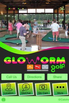 GloWormGolf poster