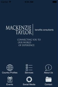 Global Benefits poster
